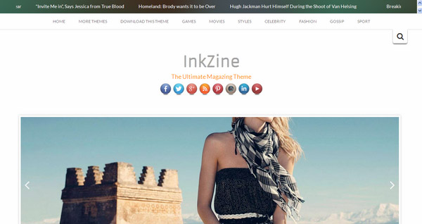 InkZine - Refreshing and Colorful