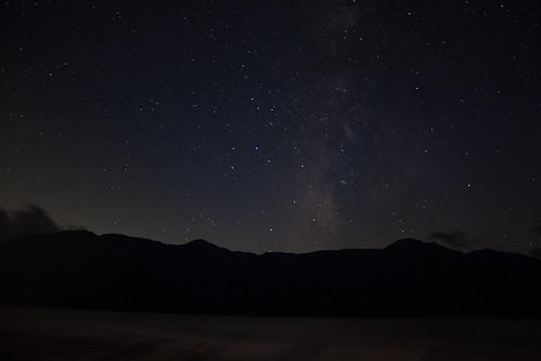 Stars at 中禅寺湖