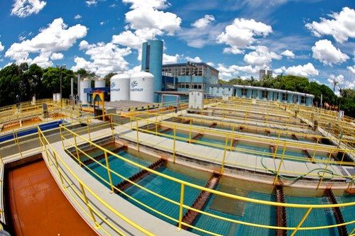 Sanepar - Estação de Tratamento de Água de Maringá