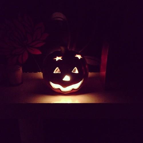 Pumpkin love. Ready for Halloween!