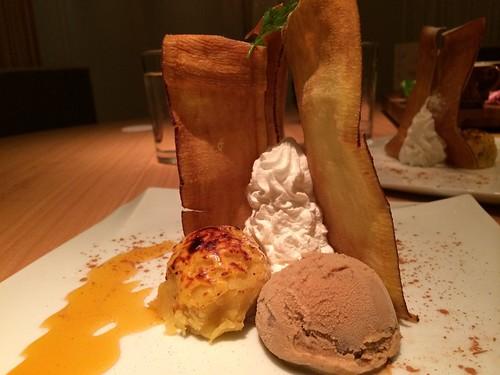 サツマイモのアイスだったかな@KICHIRI MOLLIS レセプション