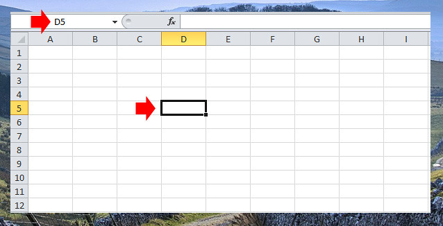 Excel Row and Columns
