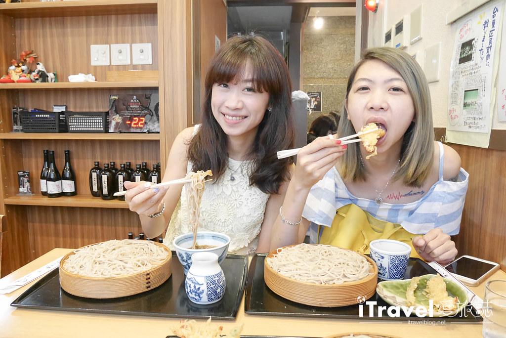 《东京美食餐厅》手打荞麦面十和田本店,取用日本食材与泉水制成美味料理