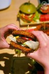 Sydney Food Blog Review of One Tea Lounge, Sydney CBD: Ramen Burger with Beef, $13.80