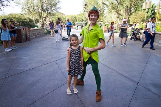 Annabel and Peter Pan