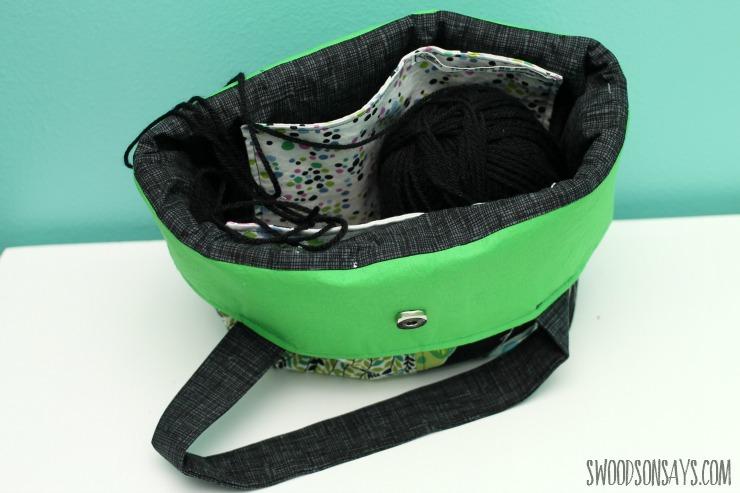 Interior bag pockets