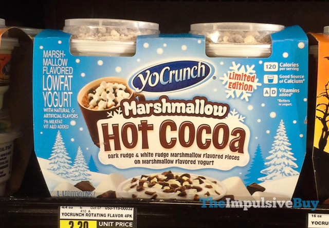 YoCrunch Limited Edition Marshmallow Hot Cocoa Yogurt