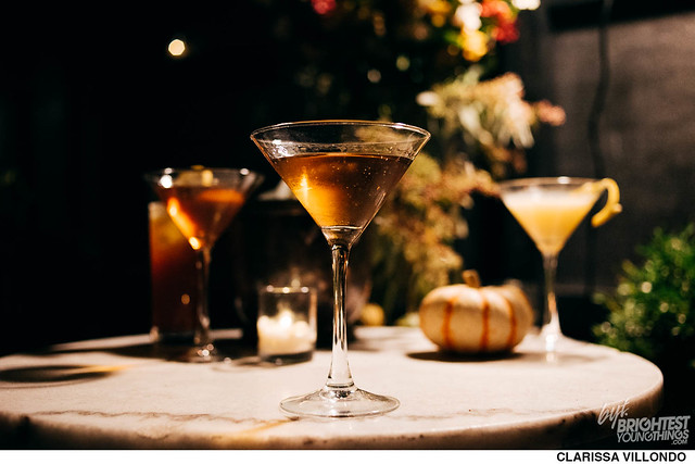 The Gibson Fall Cocktails