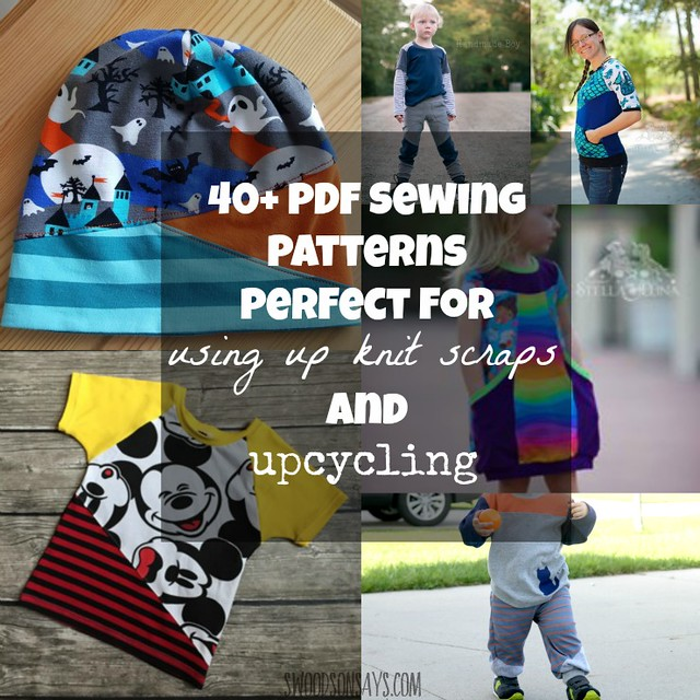 PDF Patterns for Upcycling & Using Up Scraps