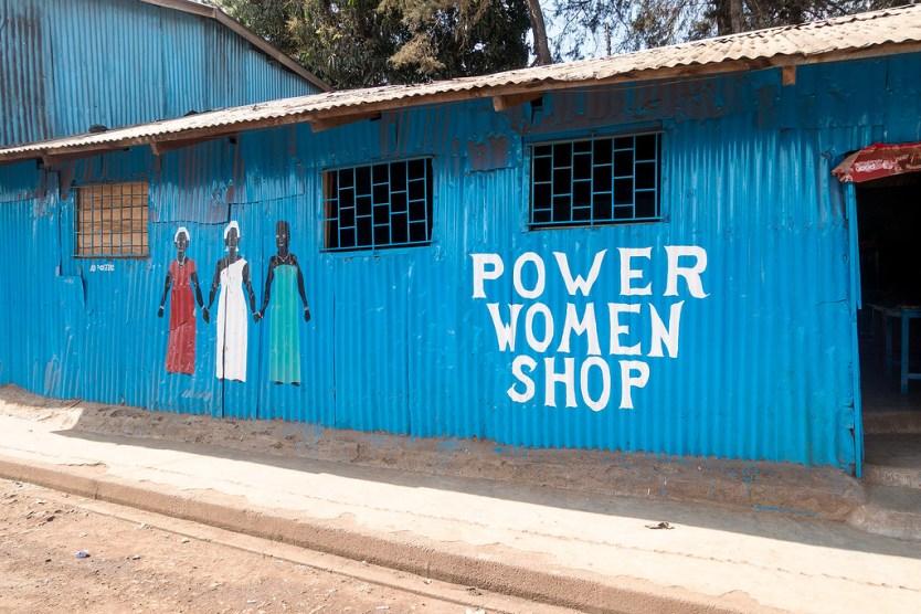Power Women Shop, Kibera Slum Tour