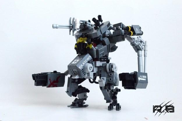 """""""Nemesis"""" Heavy Gunner Frame."""