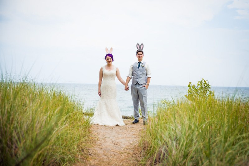 A swing dance wedding on an island (with a Bitcoin unity ceremony!)