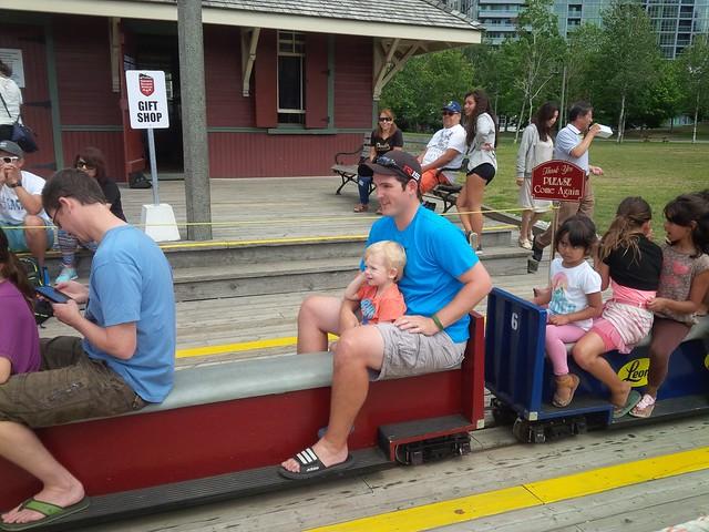 Little train ride