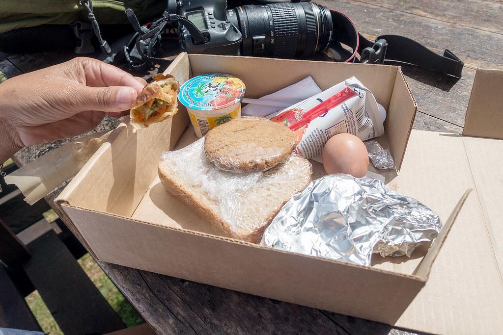 Standard lunch box.