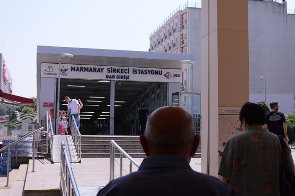 マルマライのシルケジ駅