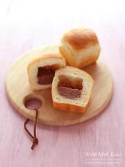 チョコクリームパン 20150821-IMG_1735