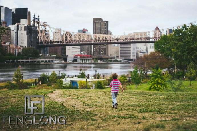 Late Summer New York City | Roosevelt Island Family Photos