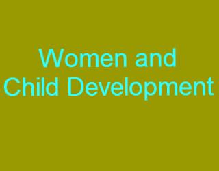 woman-child development