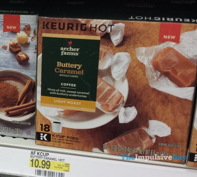 Archer Farms Buttery Caramel K-Cup