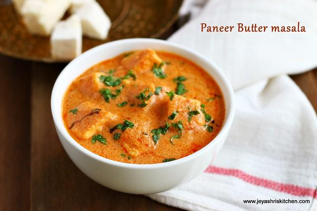 Paneer -butter masala