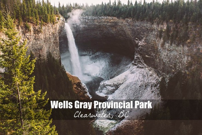 The Epic Waterfalls of Wells Gray Provincial Park in Clearwater BC | Perogy and Panda