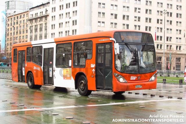 Transantiago - Express de Santiago Uno - Marcopolo Gran Viale / Volvo (ZN4401)
