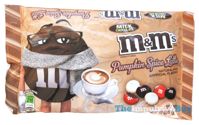 Pumpkin Spice Latte Milk Chocolate M&M's