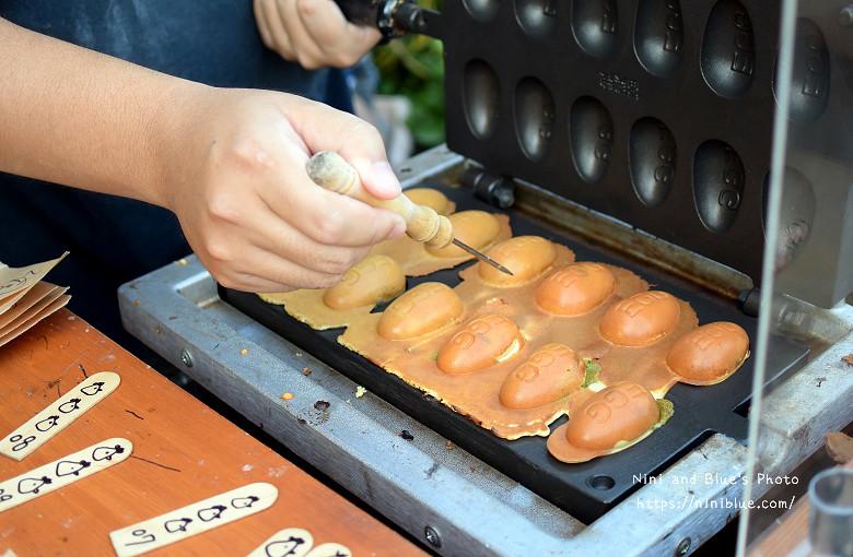 美術館綠園道魚刺人雞蛋糕08