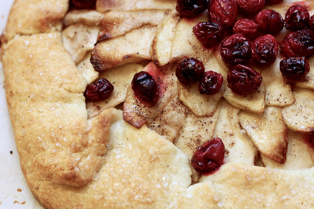 Apple Cranberry Galette - 25