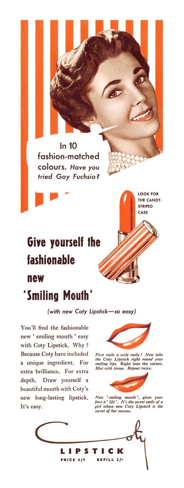 Coty Lipstick - 1955