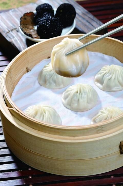 Truffle and Pork Xiao Long Bao