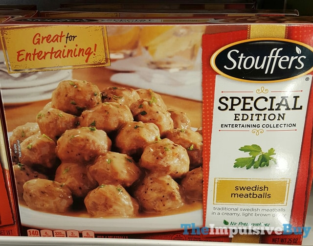 Stouffer's Special Edition Entertaining Collection Swedish Meatballs