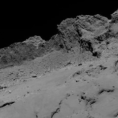 Comet from 16 km