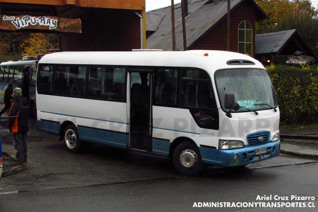 Buses Vipu-Ray - Pucón - Hyundai County (ZW1900)