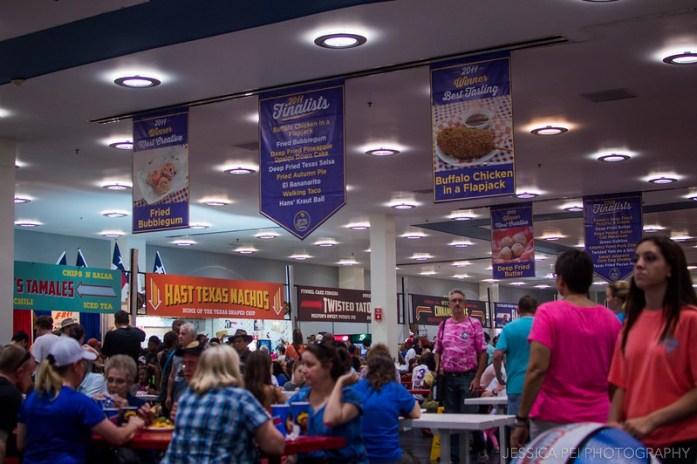 Texas State Fair Food Court