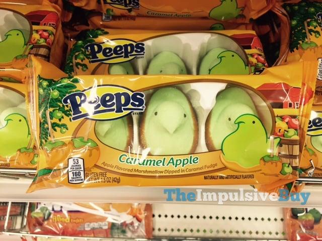 Peeps Caramel Apple