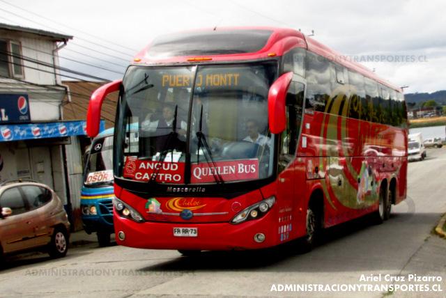 Queilen Bus - Valdivia - Mascarello Roma 370 / Mercedes Benz (FRRR73)