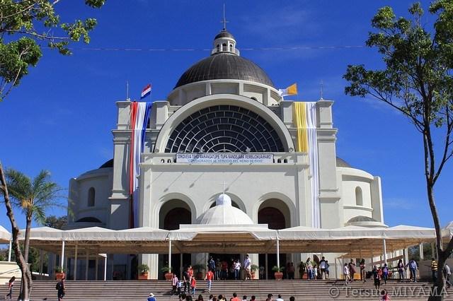 Basílica Menor de Caacupé,Paraguay