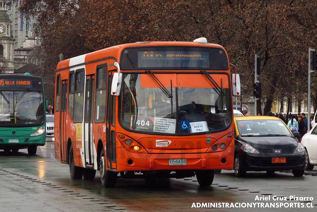 Transantiago - Express de Santiago Uno - Marcopolo Gran Viale / Mercedes Benz (YY6453)