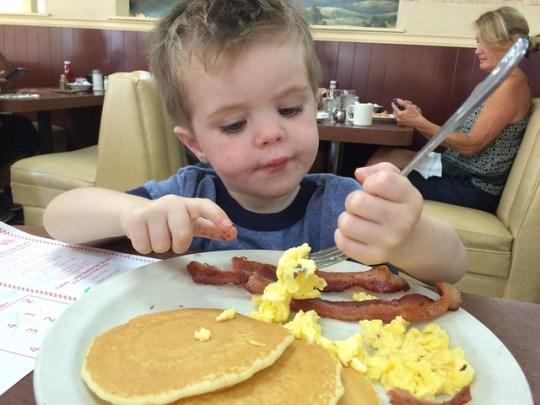 Only Child Breakfast