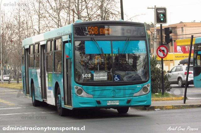 Transantiago - Metbus - Caio Mondego H / Mercedes Benz (BJFH53)