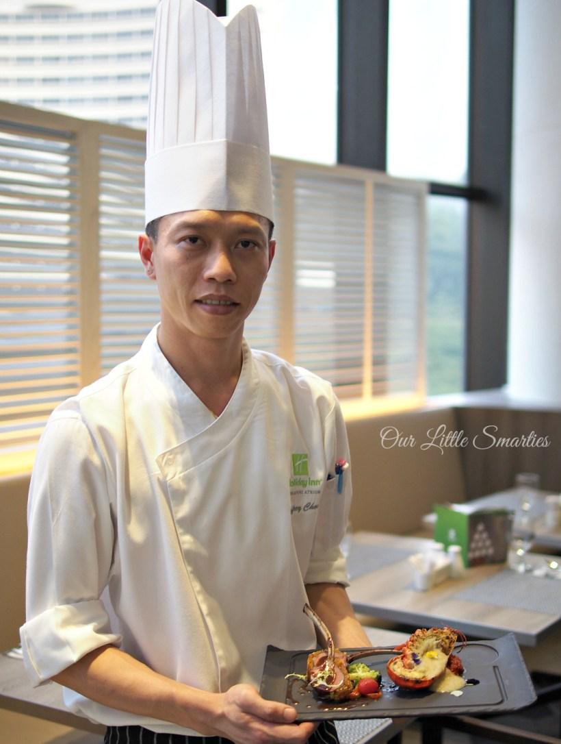 Chef at Atrium Restaurant