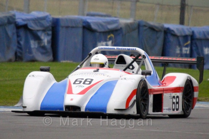 Steven Gore in the Excool OSS Championship at Donington Park, October 2015