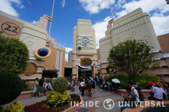 Universal Studios Japan - Space Fantasy - The Ride