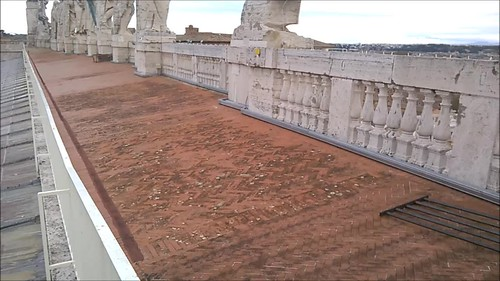 En la azotea del Vaticano