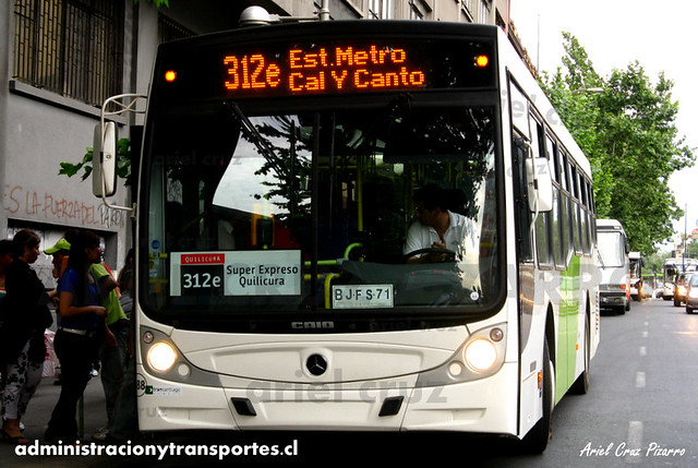 Transantiago - Buses Vule - Caio Mondego H / Mercedes Benz (BJFS71)
