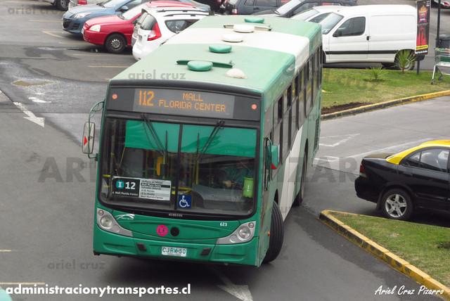 Transantiago - Buses Vule - Caio Mondego H / Mercedes Benz (CJRW50) (623)