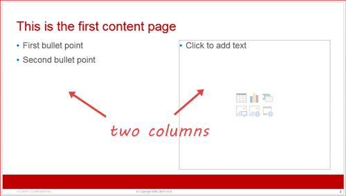 how to apply new template to existing presentation slide & what to, Presentation templates