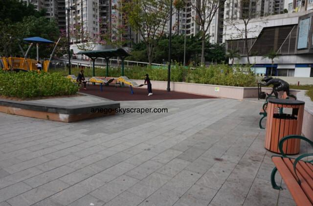 香港仔海浜公園のシーソー