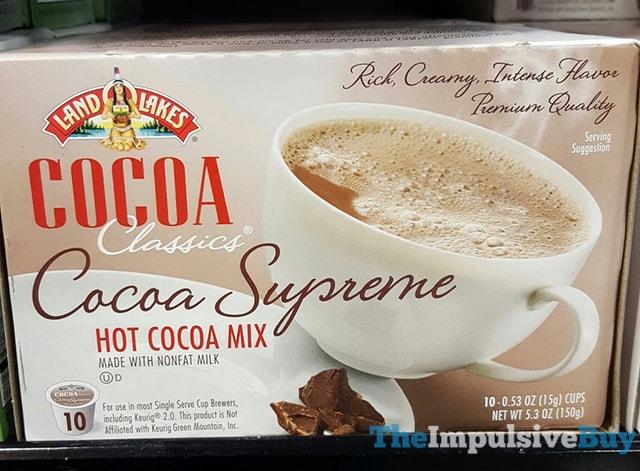 Land-O-Lakes Cocoa Classics Cocoa Supreme K-Cups
